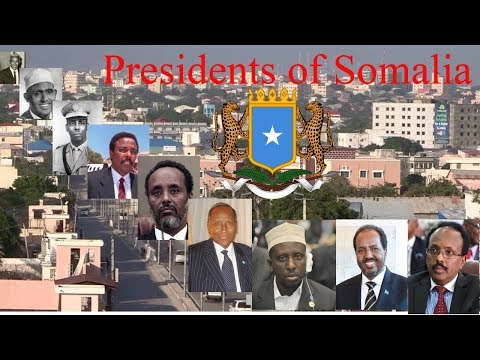 Presidents of Somalia