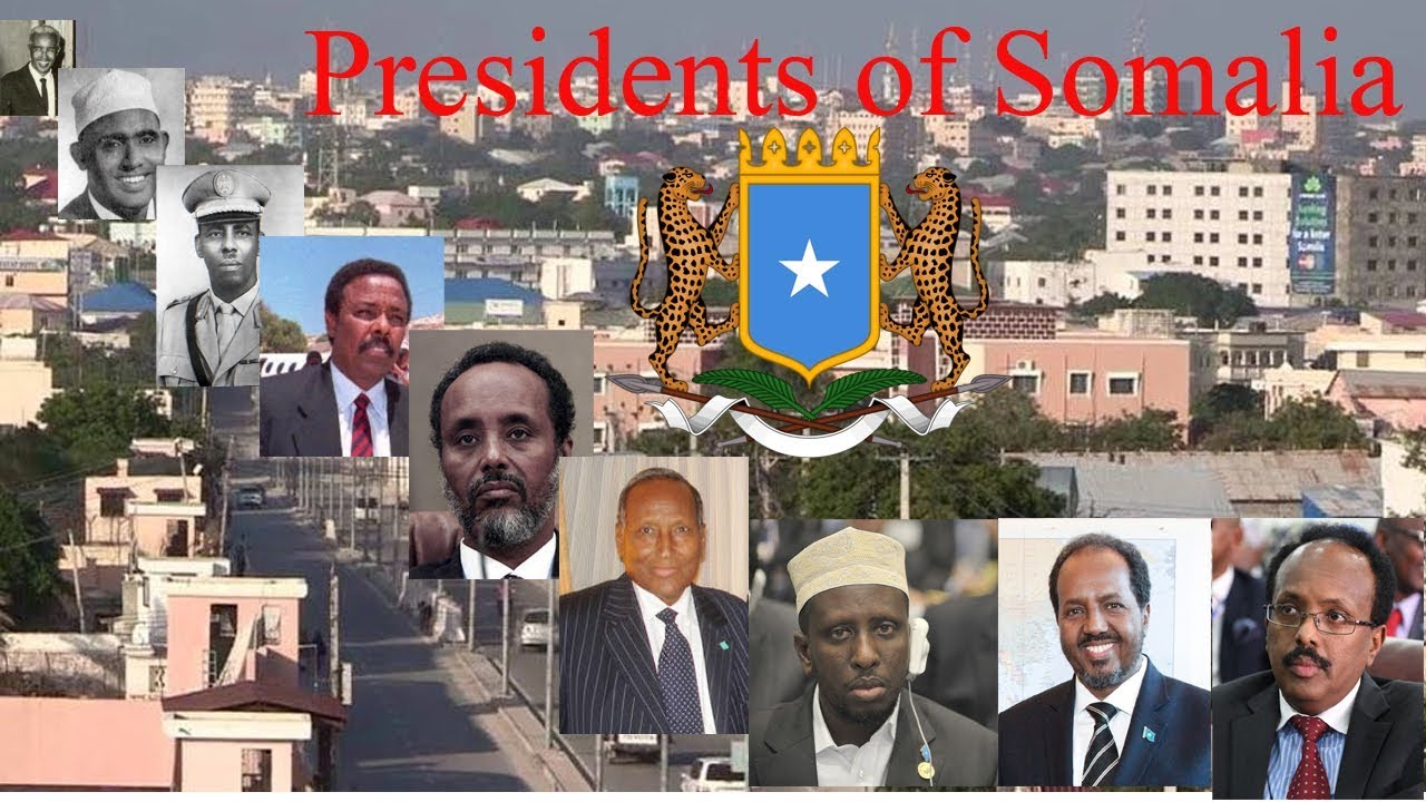 Image result for Somali Presidents