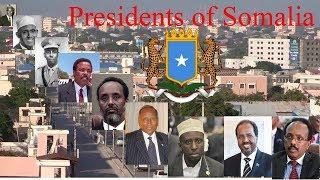 Presidents of Somalia