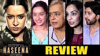 Haseena Parkar Movie Review By Bollywood Celebs - Shraddha Kapoor, Siddhanth Kapoor