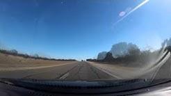 Time lapse - El Paso to Austin