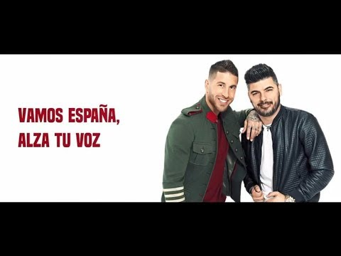 Sergio Ramos y Demarco Flamenco - Otra estrella en tu corazón (Lyric Video) #VAMOSESPAÑA