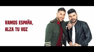 sergio ramos y demarco flamenco   otra estrella en tu corazon  lyric video   vamosespa  a