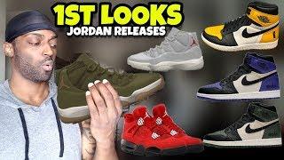 Jordan Releases: 3 New Jordan 1