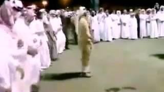 Arabian dudes dancing to nama stap