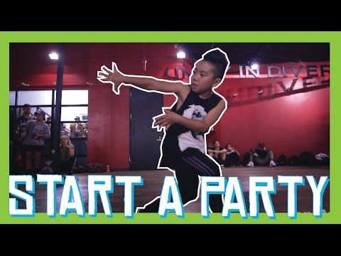 START A PARTY - Rae Sremmurd   Aidan Prince   David Moore Choreography