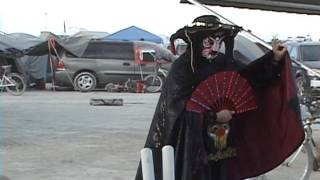 Burning Man Bian Lian Mask Magic