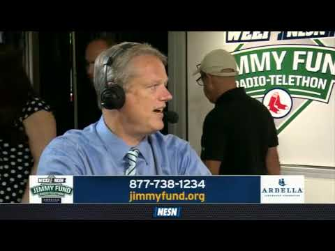 WEEI/NESN Jimmy Fund Radio-Telethon: Charlie Baker