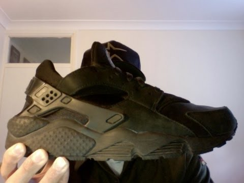 more photos 49900 e8427 Smelly Feet : Nike Air Huarache OG LE Blacked Out 2005/2006