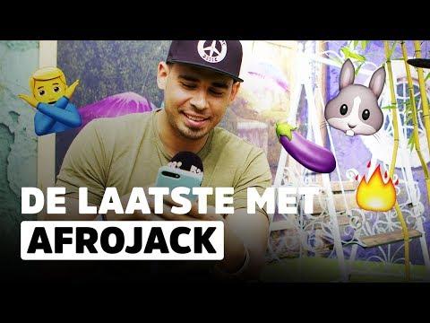 Welke emoticons gebruikt Afrojack?   De Laatste   Tomorrowland 2017