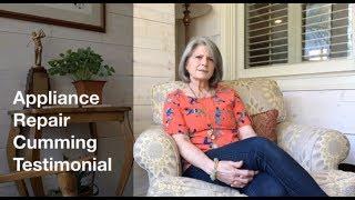 Appliance Repair Cumming Testimonial
