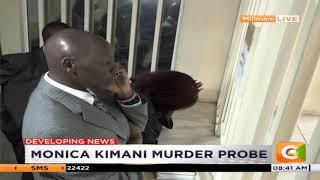 Citizen TV journalist Jacque Maribe and Joseph Irungu presented in court