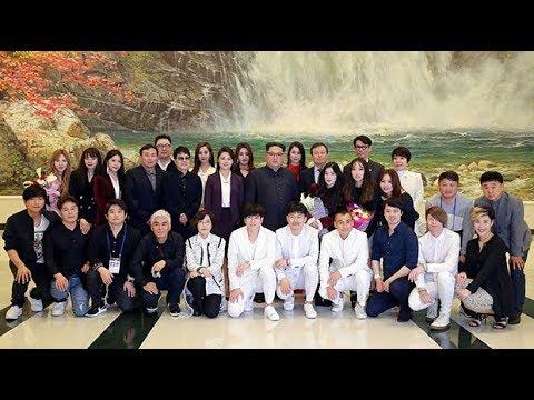 North Korean leader Kim Jong-un attends 'K-pop' conference