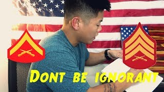 How Marines Get Promoted|Response to Navathebeast and Haters
