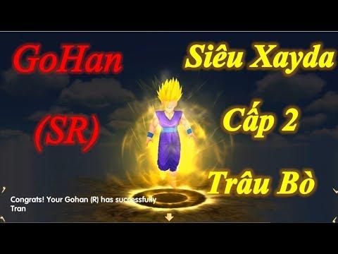 Son GoHan Tiến Hóa Siêu Xayda Cấp 2 Công Cao Thủ Cực Trâu - 7 Viên Ngọc Rồng