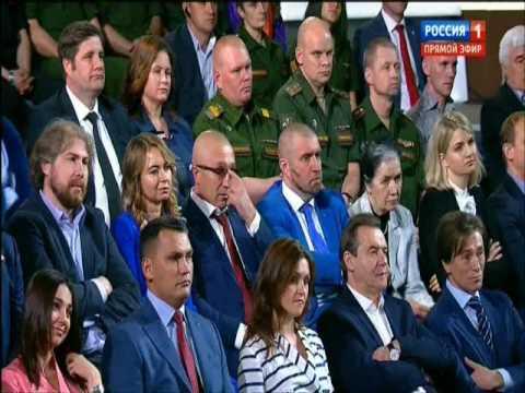Житель Ужура задал вопрос Владимиру Путину
