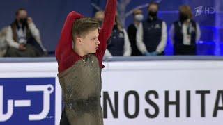 Евгений Семененко Произвольная программа Мужчины Чемпионат мира по фигурному катанию 2021