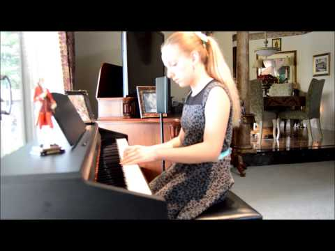 Teodora Taleski - Some Piano pieces from my Canadian Royal Conservatory of Music Exam