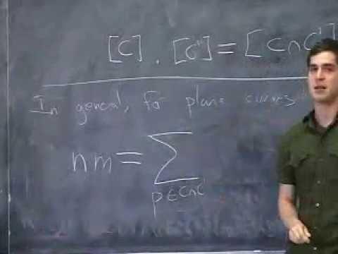 Jacob Lurie - Bezout's theorem and nonabelian homological algebra (Derived algebraic geometry)