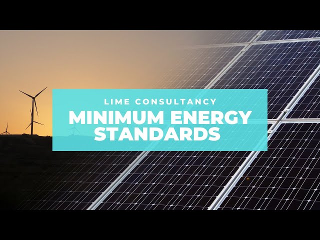 Minimum energy efficiency standards for landlords
