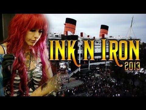TATTOO CONVENTION COVERAGE - Ink n Iron 2013 part 1 of 3