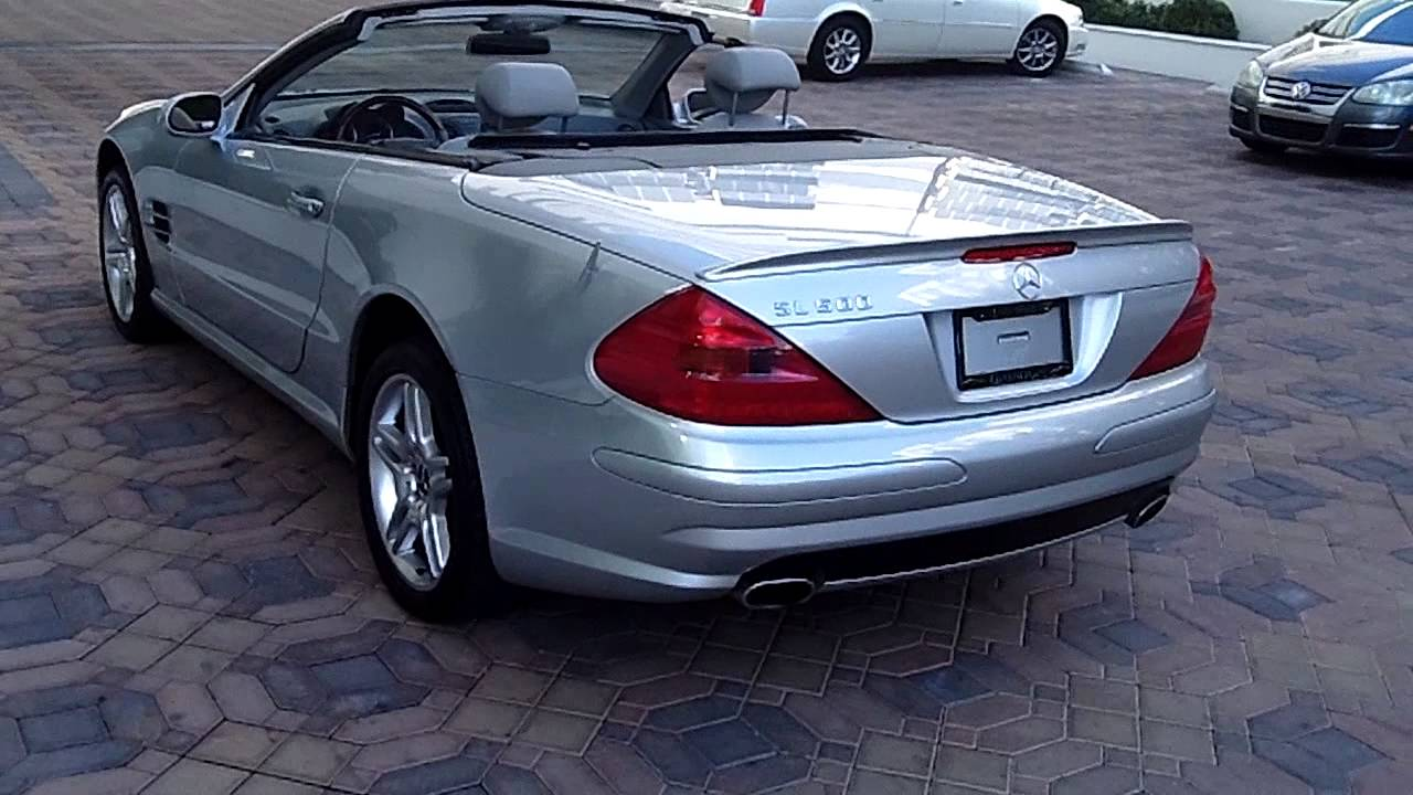 2003 SL500 Mercedes Benz Convertible - YouTube