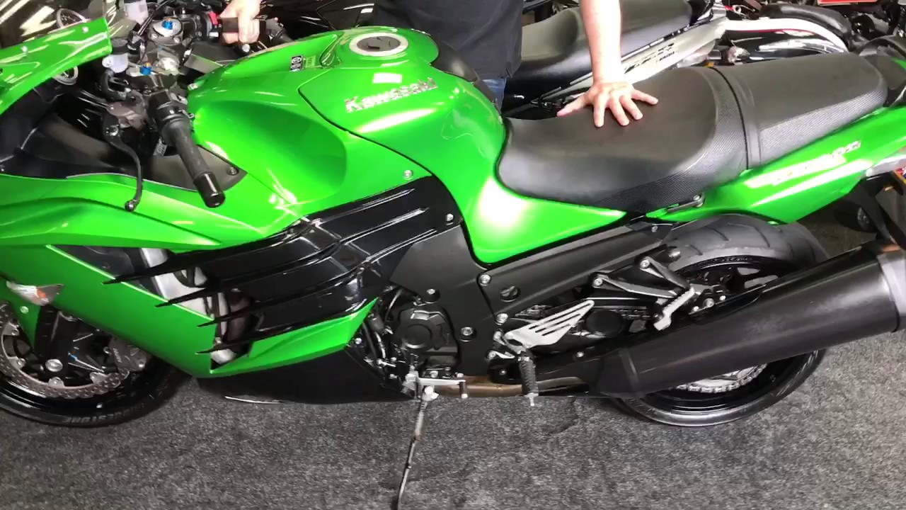 JORDAN BIKES - FOR SALE KAWASAKI ZZR1400 ABS £8490 - YouTube