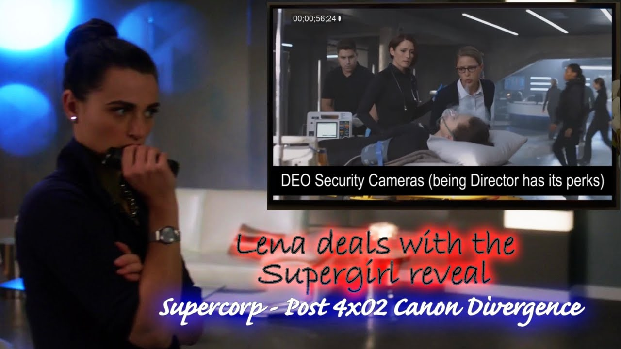 Alex helps Lena after Supergirl reveal (Supercorp Fanmade vid)