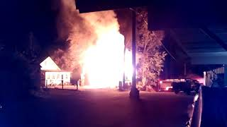 Rathdrum is burning down!!!!!!!