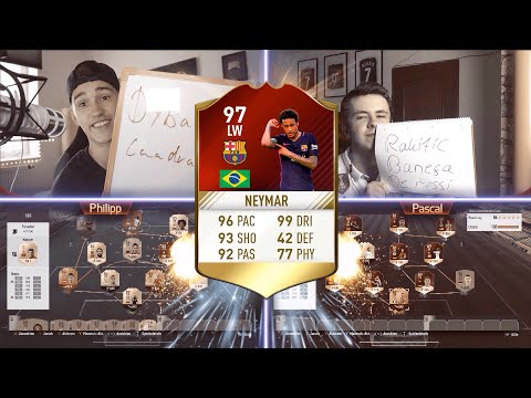 FIFA 17 - 97 NEYMAR SQUAD BUILDER SHOWDOWN 🔥 !! FT. PHINEASFIFA ⛔ !!