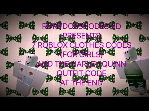 7-roblox-clothes-codes-for-girls|-harley-quinn-outfit-code|