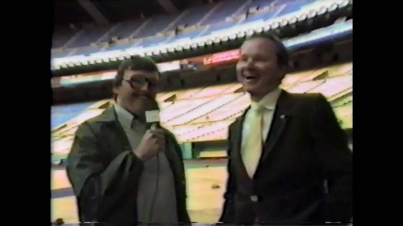 Toronto Broadcaster Tom Cheek - 1985