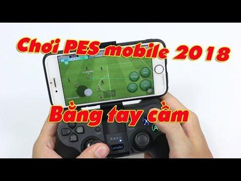 Chơi PES mobile 2018 bằng tay cầm Gamesir trên IOS – Không phải ra tiệm PS4, Đá vẫn cực phê