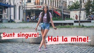 SUNT SINGURA! HAI LA MINE ACASA! | Experiment Social