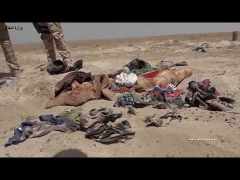 Iraq War: A Fleeing ISIS Convoy Gets Totally Annihilated By an Iraqi Mi-28. (2016).
