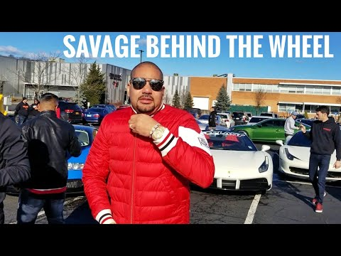 Trying To Keep Up With DJ Envy Ferrari I Almost Blew Up The Porsche