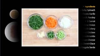 Chicken Meatbal Italialn Wedding Soup With Fregola Sarda Spinach - Healthy Meals