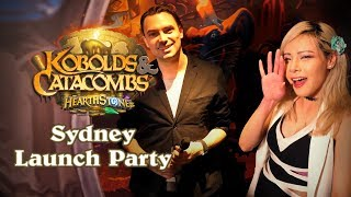 Hearthstone: Sydney Kobolds & Catacombs Launch Party