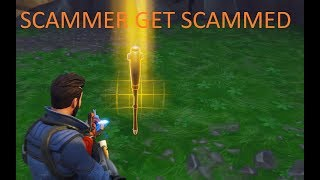 Fortnite Save The World: Scammer Get Scammed For A Baseball Bat???