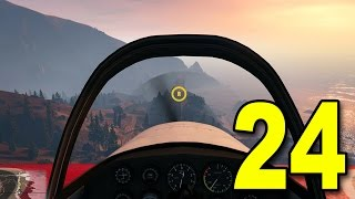 Grand Theft Auto V First Person - Part 24 - Flight School (Walkthrough / Next Gen Gameplay)