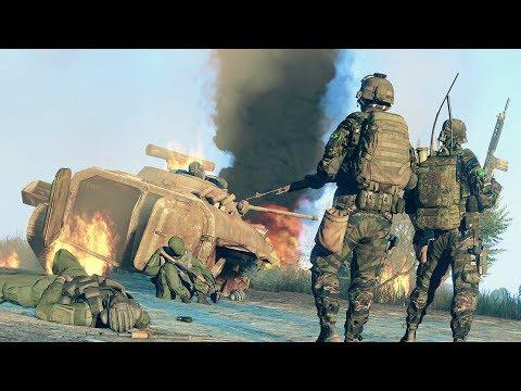ARMA 3 - FT-2. Америка в Афганистане.  США vs Россия.
