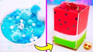 EXTREME SLIME MAKEOVERS! Fixing My BORING Old Store Bought Slimes!