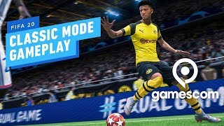 11 Minutes of FIFA 20 Classic Mode Gameplay (4K 60fps) - Gamescom 2019