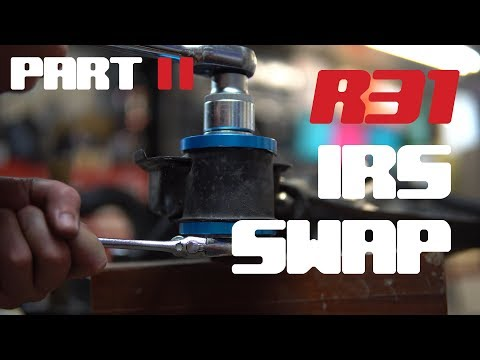 R31 IRS Conversion Part 2: Bushes and Chassis Diagrams