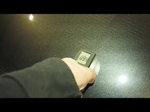 Сколько микрон снимает полировка с лака ?