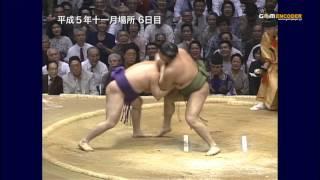 貴ノ花vs智ノ花 (平成5年十一月場所)