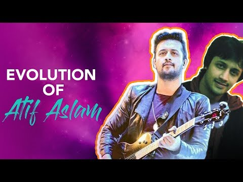 The Evolution of Atif Aslam   Career Progression   Exclusive Old Footage
