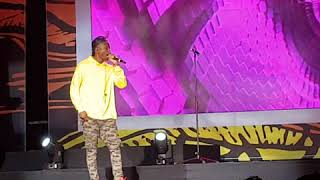 Vector performs at the AFRIMA 2017