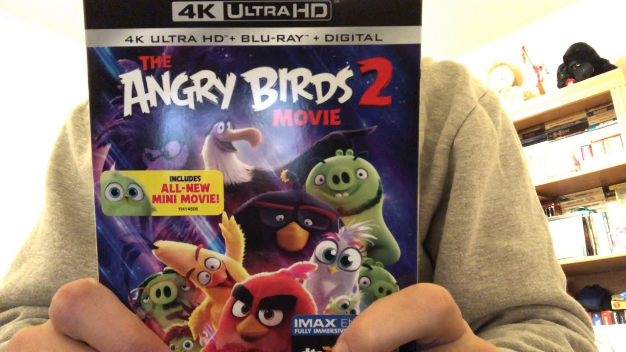 The Angry Birds 2 Movie 4k Ultra Hd Blu Ray Unboxing Youtube