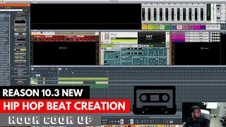 WATCH THIS HIP HOP BEAT GET COOKED WITH A HOOK IN PROPELLERHEAD REASON 10.3